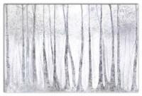 "Pied Piper Creative - ""Silver Birch Trees"" Canvas Wall Art ..."