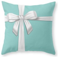 Blue Tiffany Box Throw Pillow - Contemporary - Decorative ...