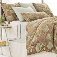 Pine Cone Hill Grapevine Crewel Duvet Cover - Modern ...