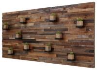 Shop Houzz | CarpenterCraig Reclaimed Barn Wood Wall Art ...