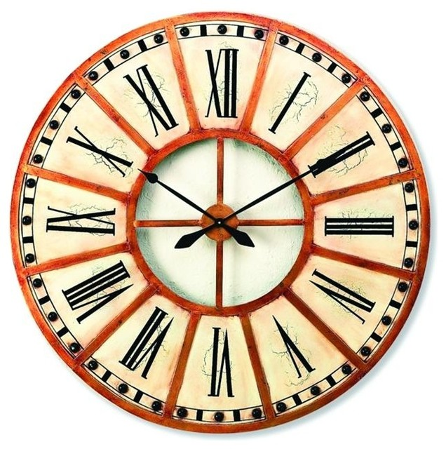 Accents Wall Clock by Dr Livingstone I Presume - Transitional - Wall