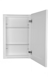 Shaker Style Frameless In Wall Bathroom Medicine Cabinet ...