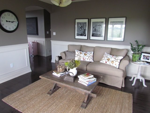 Our Small but Cozy Living Room - cozy living room colors