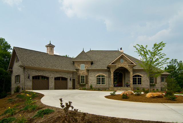 French Country - Traditional - Exterior - Charlotte - by Pippin - home designers