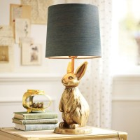 The Emily + Meritt Brass Bunny Table Lamp - Eclectic ...