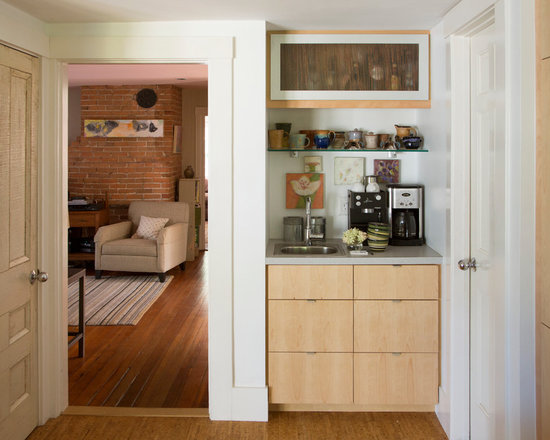 mid sized contemporary galley kitchen design photos bamboo small kitchen requires innovative approach designed kitchen