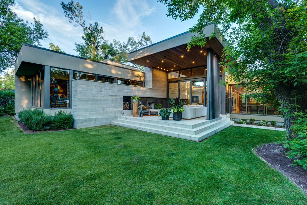 Bungalow Modern Modern Bungalow - Contemporary - Exterior - Calgary - By