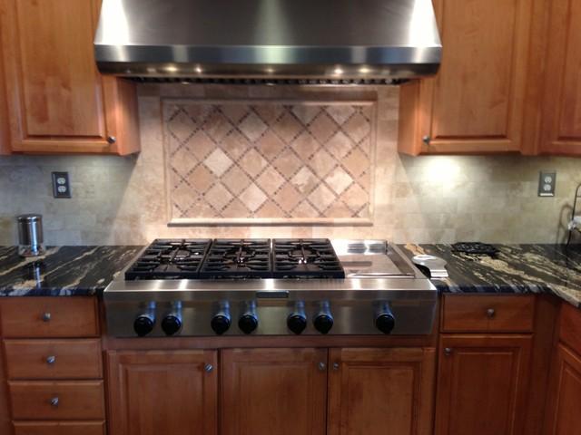 kitchen backsplash travertine honed traditional elegant kitchen backsplash traditional kitchen