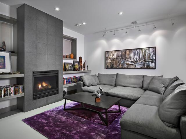 Gray and Purple Living Room Ideas u2013 Living Room Design Inspirations - purple and grey living room
