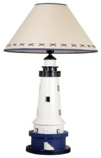Lighthouse Lamp - Beach Style - Table Lamps - by Brass ...