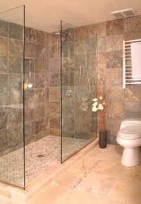 Open shower without door - Asian - Bathroom - Seattle - by ...