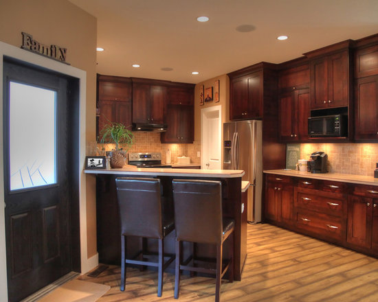 small single wall enclosed kitchen design ideas remodels photos inspiration small transitional single wall eat kitchen