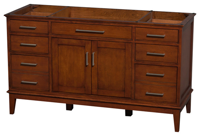 60 In Eco Friendly Bathroom Vanity In Light Chestnut
