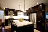 Dark brown kitchen - Modern - Kitchen - Toronto - by Hot ...