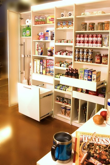 pantry kitchen portland closets pull shelves pull trash bin kitchen drawer organizers