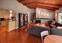 Updated 50s Ranch House - Midcentury - Living Room ...