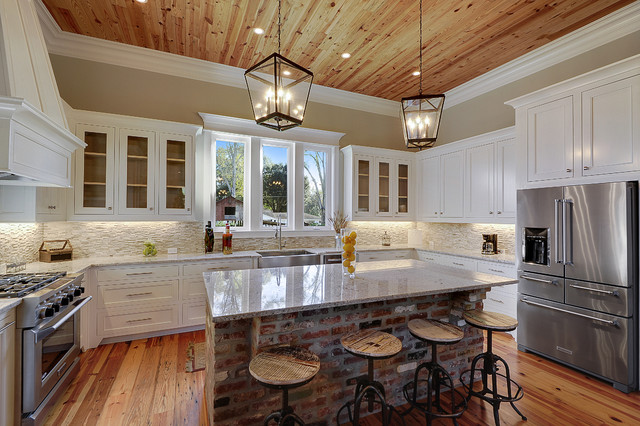 Red Oaks Residence - Transitional - Kitchen - New Orleans - by - transitional kitchen design
