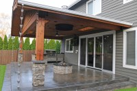 Covered Patio & Firepit