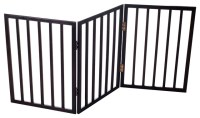 Easy-Up Free Standing Folding Gate by PAW - Traditional ...