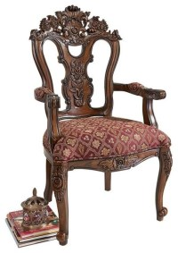 The Isabella Ornate Armchair - Victorian - Armchairs And ...