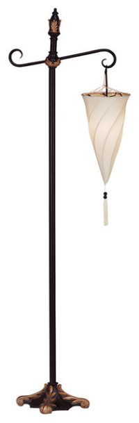 Spiral Hanging Floor Lamp - Traditional - Floor Lamps - by ...