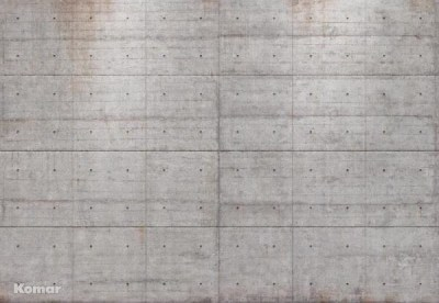 Brewster 8-938 Concrete Blocks Wall Mural - Contemporary - Wallpaper - by Buildcom