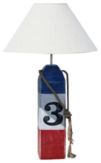 Buoy Table Lamp - Beach Style - Table Lamps