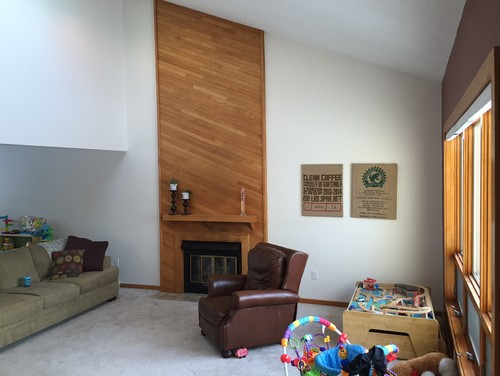 Ideas for my 1980s contemporary living room?
