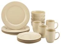 Cucina Dinnerware 16-Piece Stoneware Dinnerware Set ...