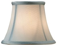Blue Shantung Shade - Transitional - Lamp Shades - by ...