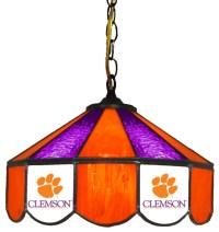 "Clemson Tigers 14""-Light Swag Lamp - Pendant Lighting - by ..."