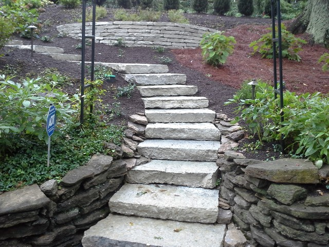 Front entry traditional landscape cincinnati by