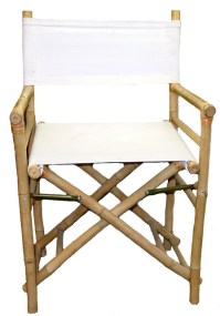Chair Bamboo Low Director Chair, Set of 2 - Folding Chairs ...