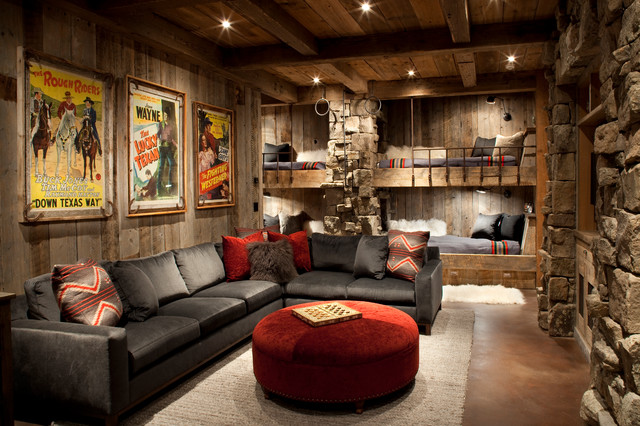 Family Room - Rustic - Family Room - Other - By Peace Design