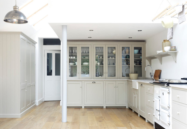 The Kew Shaker Kitchen By Devol Contemporary Kitchen - Shaker Küchen