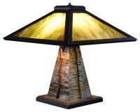 Adirondack Craftsman Lighting Table lamp rustic-table-lamps