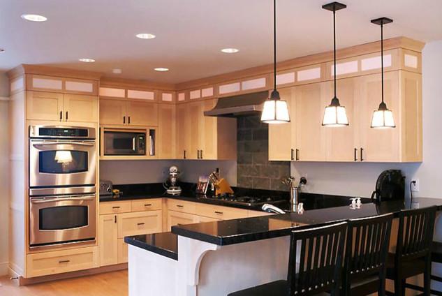 Walnut Ridge Pool And Patio View Ridge Kitchen Contemporary Kitchen