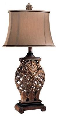 Minka Lavery 1-Light Table Lamp, Weathered Lattice ...