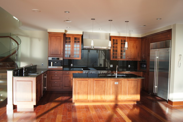 Kitchen Cabinet Refacing Denver Kitchen Refacing By Ids Group Denver - Traditional