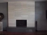 Grey Fireplace Tiles | Tile Design Ideas