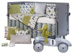 Uptown Traffic Baby Crib Bedding Set