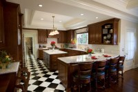 Bianco Romano Granite - Traditional - Kitchen - San Diego ...