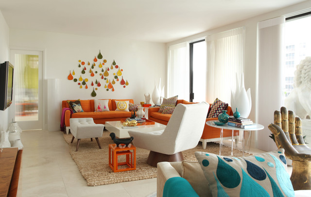 Rooms to Inspire by the Sea by Annie Kelly beach homes houses - living room furniture nyc