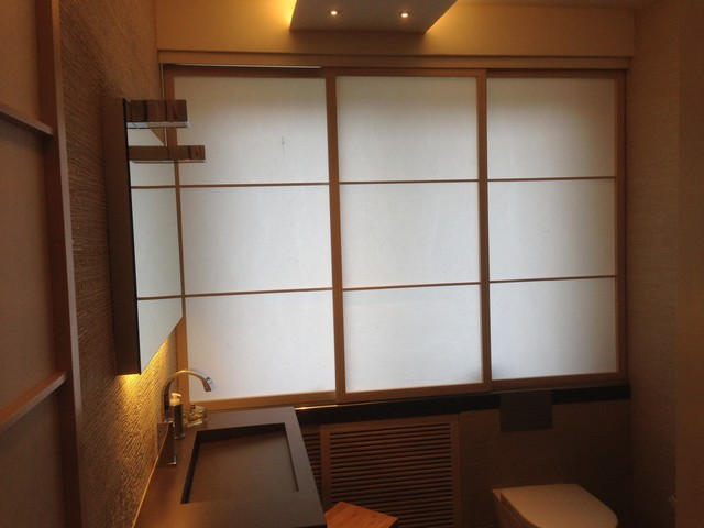 Bad im Japan Stil - Bathroom Japanese Style - Asiatisch - badezimmer japan