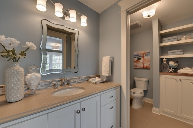 Houzz Mirrors 2013 Luxury Home-inver Grove Heights - Traditional
