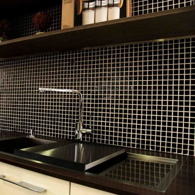 Black Mosaic Tiles Direct Tile Warehouse Other By