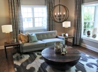 Refined Rustic - Transitional - Living Room - Chicago - by ...