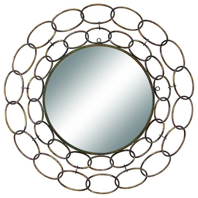 Metal Mirror Wall Decor, 35 - home decor mirrors