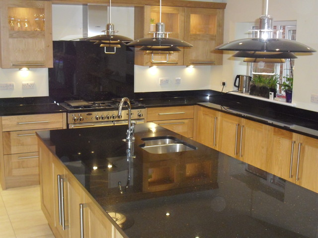Star Galaxy Granite Island Traditional Kitchen - Star Galaxy Granit