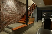 Lantern House - Reclaimed Wood Stairs - Contemporary ...